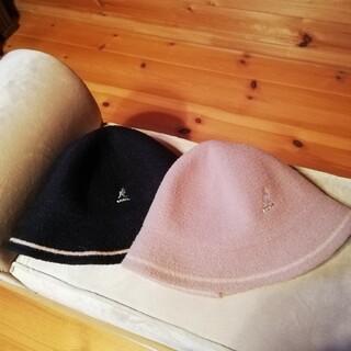 専用出品 KANGOL カンゴール ブラック(ハンチング/ベレー帽)