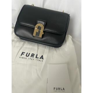 フルラ(Furla)の新品 FURLA COSY フルラ ミニショルダーバッグ ブラック(ショルダーバッグ)
