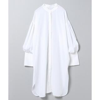 JEANASIS - 【タグ付き】JEANASIS カバーリングロングシャツ