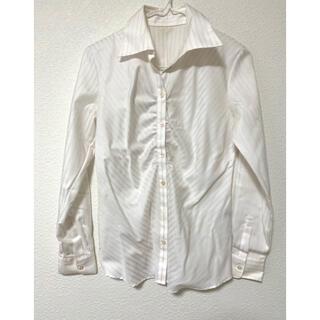 しまむら - ストライプシャツ ブラウス 開襟シャツ リクルート