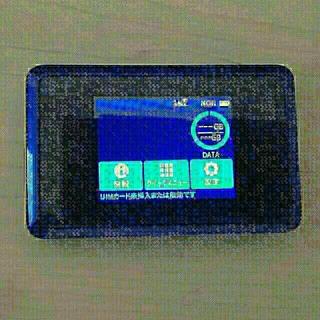 エヌイーシー(NEC)の【モバイルWi-Fi】Speed Wi-Fi NEXT WX03 ※バラ売相談可(PC周辺機器)