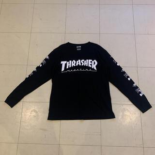 THRASHER - 美品 thrasher ロンT Mサイズ