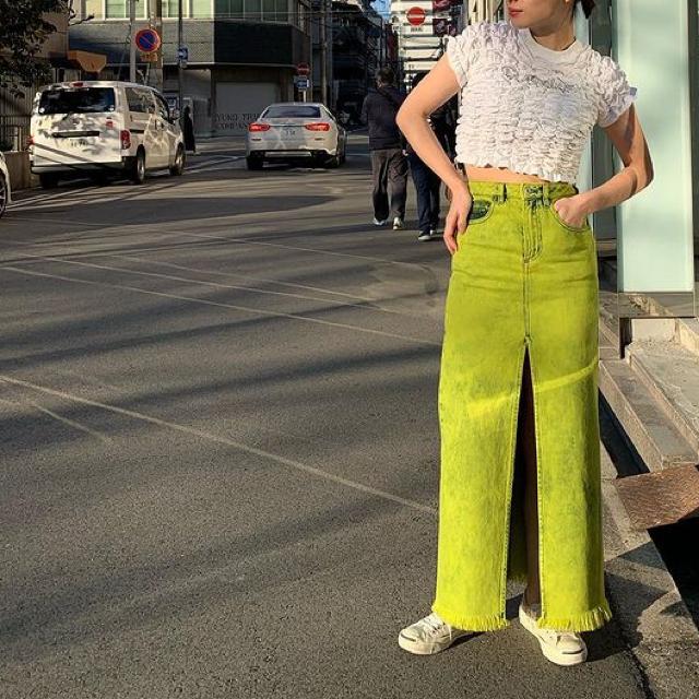 MIDWEST(ミッドウエスト)のmarques almeida マルケスアルメイダ スリット ロング スカート  レディースのスカート(ロングスカート)の商品写真