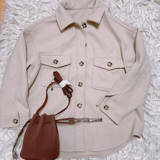 GRL - GRL オーバーサイズジャケット コート 巾着バッグ