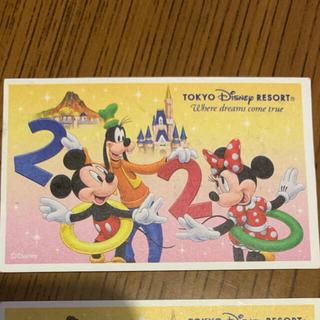 ディズニー(Disney)の2020年 ディズニー チケット 使用済み(遊園地/テーマパーク)