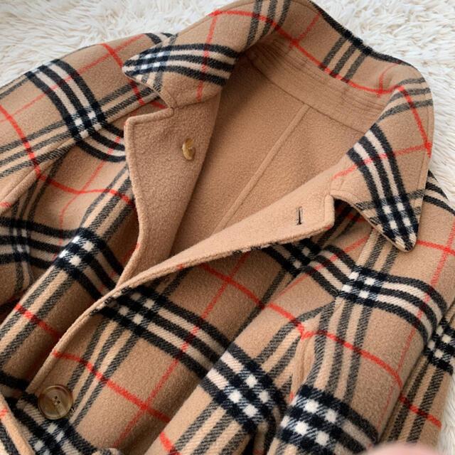 BURBERRY(バーバリー)のBurberry's ヴィンテージノバチェックロングコート 綺麗ライン レディースのジャケット/アウター(ロングコート)の商品写真