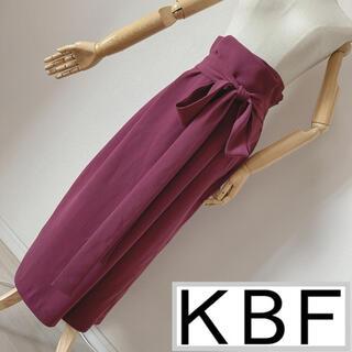 KBF+ - KBF+ ウエストリボンラップスカート