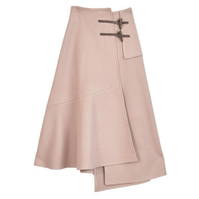 Ameri VINTAGE(アメリヴィンテージ)のUNDRESSED DUFFLE DETAIL SKIRT  レディースのスカート(ロングスカート)の商品写真