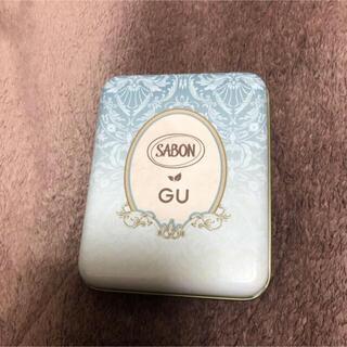 サボン(SABON)のSABON×GU コラボ ノベルティ 缶(ノベルティグッズ)