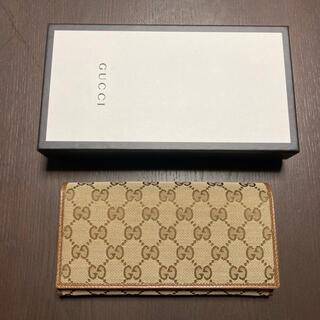 Gucci - 新品未使用 GUCCI グッチ GG柄×レザー 2つ折り 長財布 ウォレット