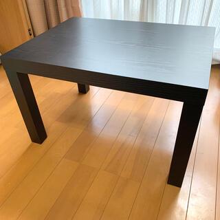 ヤマゼン(山善)の山善 キュービックテーブル ブラック(ローテーブル)