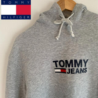 TOMMY - 【¥13000→¥3980】  TOMMY JEANS ロゴ入りパーカー