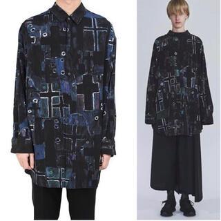 LAD MUSICIAN - 定価36300円 2020SS LAD MUSICIAN バックフロントシャツ