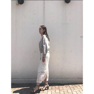 JILLSTUART - レースタイトスカート