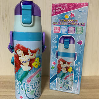 Disney - アリエル☆470ml ステンレスダイレクトボトル