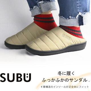 2020 SUBU 新作 サンダル 1(24〜25.5)リフレックスベージュ