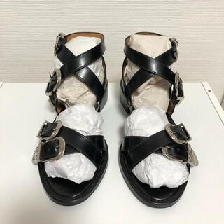TOGA - TOGA cross strap sandal