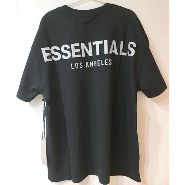 FEAR OF GOD(フィアオブゴッド)のFOG LA限定 ESSENTIALSリフレクティブfear of god S メンズのトップス(Tシャツ/カットソー(半袖/袖なし))の商品写真