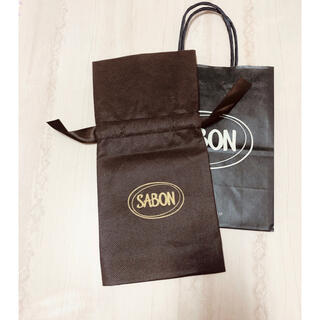 サボン(SABON)の【SABON】ラッピング袋&ショッパー【各1枚】(ショップ袋)