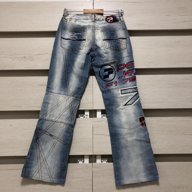 Pepe Jeans(ペペジーンズ)のpepe jeans ぺぺジーンズ デニム パンツ レディースのパンツ(デニム/ジーンズ)の商品写真
