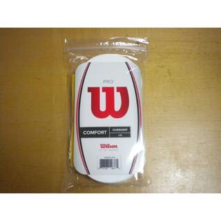 ウィルソン(wilson)のWILSON(ウィルソン)グリップテープ(ウェット)30本入り(白)(その他)