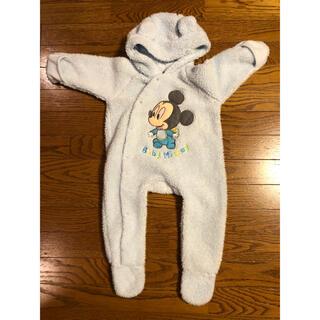ディズニー(Disney)のディズニー ベビー服 新生児 カバーオール ロンパース 足つき 50 60 70(カバーオール)