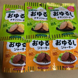 カメダセイカ(亀田製菓)の亀田製菓 おゆるしジャーキー おゆるしチキンジャーキー 6袋(菓子/デザート)
