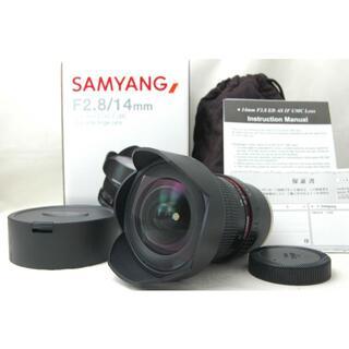 ソニー(SONY)の【ほぼ新品】 サムヤン 14mm F2.8 Eマウント シリアル一致元箱(レンズ(単焦点))