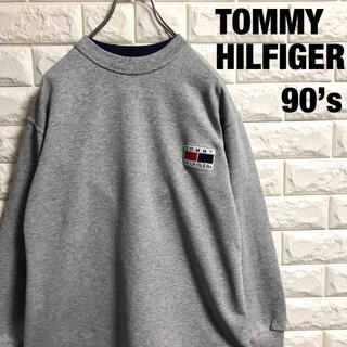 TOMMY HILFIGER - 90's トミーヒルフィガー スウェットトレーナー メンズSサイズ相当