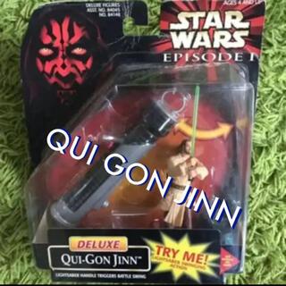 ディズニー(Disney)のスターウォーズ デラックス クワイ=ガン・ジン フィギュア STAR WARS(SF/ファンタジー/ホラー)