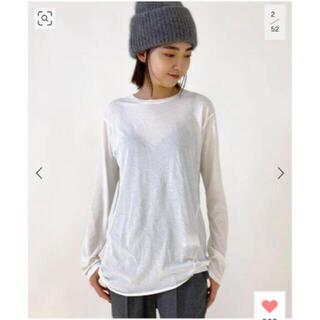 L'Appartement DEUXIEME CLASSE - 追加 Distortion Tシャツ ホワイト 新品タグ付き 試着無し