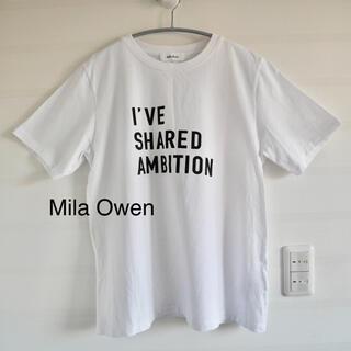 Mila Owen - Mila Owen 英字Tシャツ