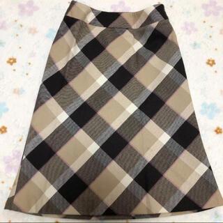 クミキョク(kumikyoku(組曲))のKUMIKYOKU SIS 上品なスカート(ひざ丈スカート)