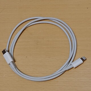 Apple - Apple純正 USB-C to Lightningケーブル 1m 中古