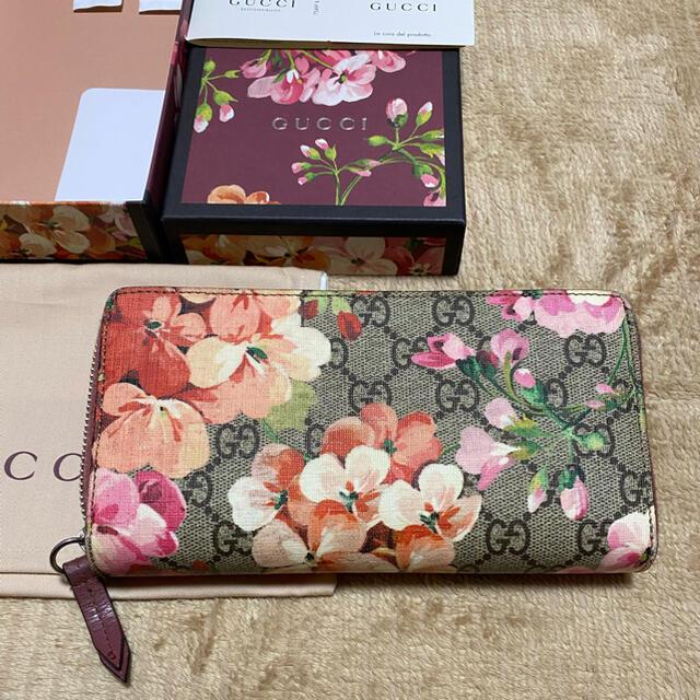 Gucci(グッチ)のGUCCI 長財布 GGブルームス レディースのファッション小物(財布)の商品写真