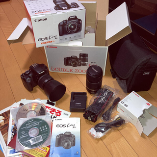 Canon - Canon EOS KISS X4 Wズームキット