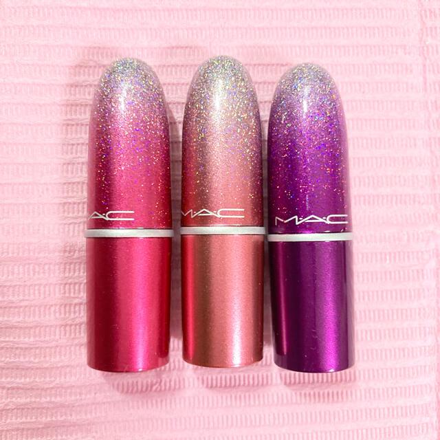 MAC(マック)のMAC リップスティック  3本セット コスメ/美容のベースメイク/化粧品(口紅)の商品写真