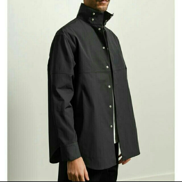 Jil Sander(ジルサンダー)のjil sander  20ss  ハイネック  シャツジャケット【未使用品】 メンズのトップス(シャツ)の商品写真