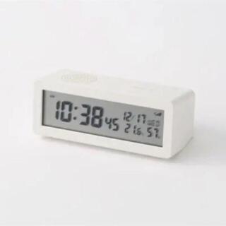 MUJI (無印良品) - 新品 無印良品  デジタル電波時計
