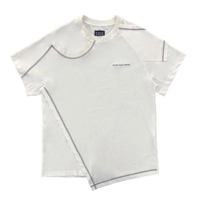 kolor(カラー)の2 IN 1 T-SHIRT  FENG CHEN WANG 21ss メンズのトップス(Tシャツ/カットソー(半袖/袖なし))の商品写真
