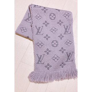LOUIS VUITTON - LOUIS VUITTON  ロゴマニア マフラー