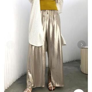 アメリヴィンテージ(Ameri VINTAGE)の1年中着れる‼️❤️AMERI❤️MEDI GLITTER EASY PANTS(カジュアルパンツ)
