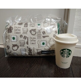 スターバックスコーヒー(Starbucks Coffee)のスタバ トライアングルクッション リユーザブルカップセット(その他)