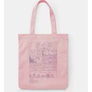 GU - 新品 ジーユー さくらももこ トートバッグ ピンク ちびまる子ちゃん