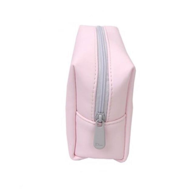 Dior(ディオール)のDior ディオールポーチ ノベルティ ピンク×グレー 限定♡ レディースのファッション小物(ポーチ)の商品写真