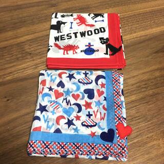 Vivienne Westwood - VW ヴィヴィアンウエストウッド ハンカチ 2枚セット① 美品