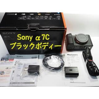 SONY - 【10月まで保証期間】SONY α7C  最小軽量フルサイズ 美品