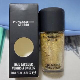 マック(MAC)のMAC☆Silver dew ゴールドラメ(マニキュア)