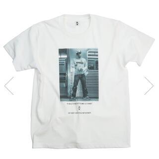 エクスパンション(EXPANSION)のD.L FLUSHING 2004 TEE (WHITE)BuddhaBrand(Tシャツ/カットソー(半袖/袖なし))