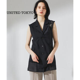 【最終値下げ】UNITED TOKYO グロスターシアーベスト(ベスト/ジレ)